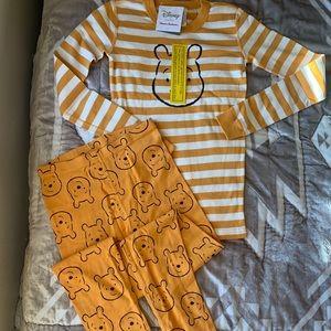 Hanna Andersson New NWT Winnie Pooh Pajamas 160 Sm